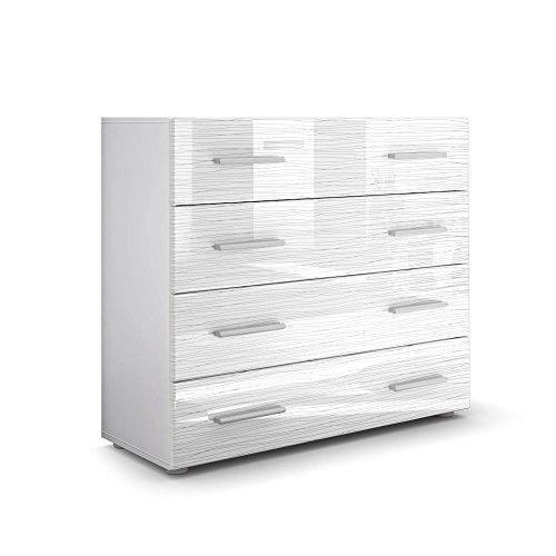 Kommode-Sideboard-Pavos-in-Wei-Wei-Silverline-Hochglanz-0