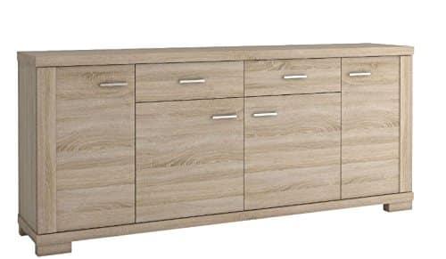 kommode sideboard temerin farbe sonoma eiche 10 abmessungen 200 x 85 x 42 cm b x h x t. Black Bedroom Furniture Sets. Home Design Ideas