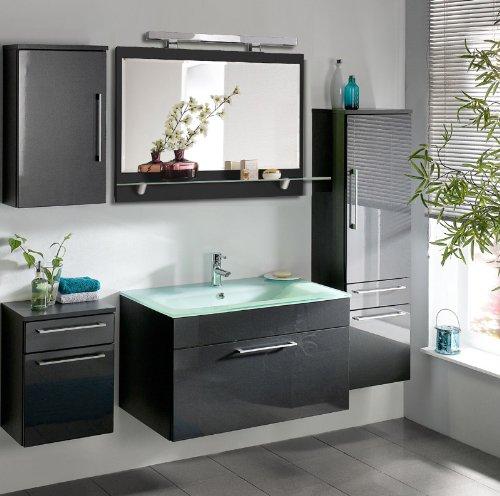 Komplett-Badezimmer-Mbel-Set-Hochglanz-Badmbel-Schrank-Waschtisch-Waschplatz-0