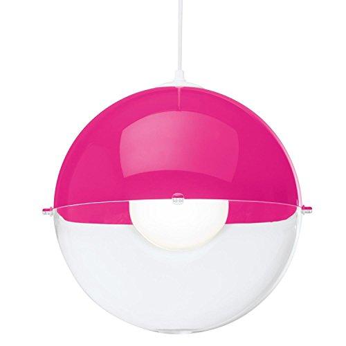 Koziol-Orion-Pendelleuchte-pink-transparent-327-0