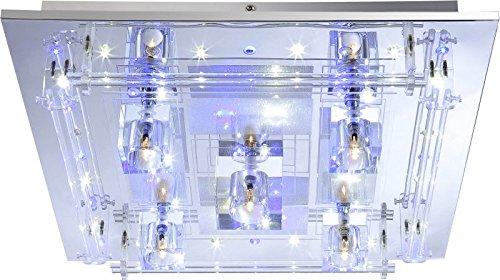 led deckenlampe mit farbwechsel deckenleuchte inkl. Black Bedroom Furniture Sets. Home Design Ideas