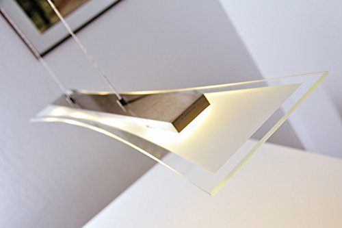 led hngeleuchte hefei 4 x 4 watt 1280lumen 3000 kelvin lichtfarbe warmweiss 0 m bel24. Black Bedroom Furniture Sets. Home Design Ideas