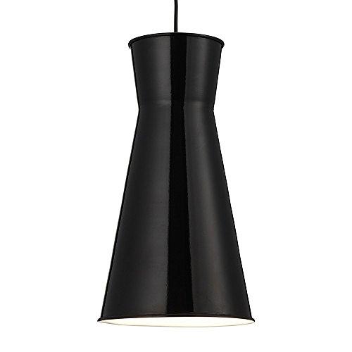 LED Pendelleuchte Design Metall Diablo - Ø 16,5cm - schwarz
