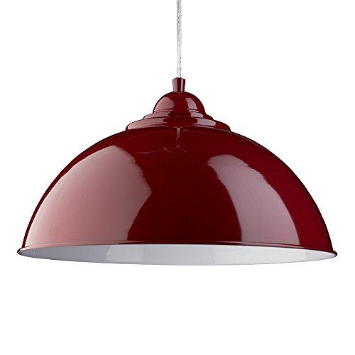 LED-Pendelleuchte-Metall-simpel-Kitchen--34cm-rot-0