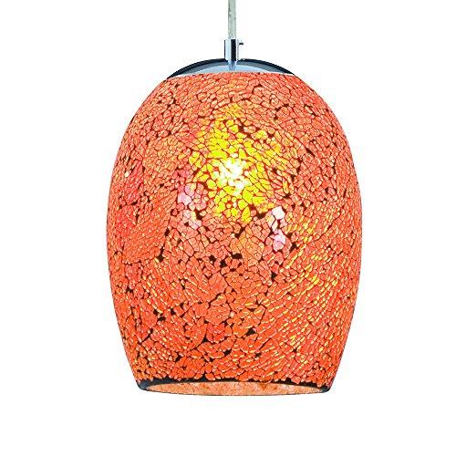 LED-Pendelleuchte-Mosaikglas-Crackle--18cm-orange-0