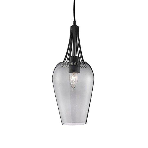 LED-Pendelleuchte-Vintage-Whisk--16cm-schwarz-mit-smokey-Glas-0