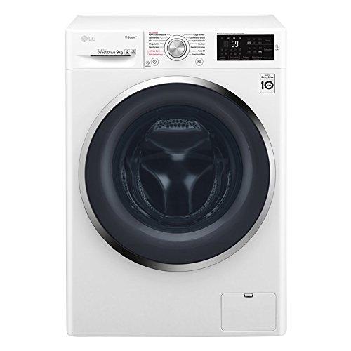 LG F 14WM 9KG Waschmaschine Frontlader / A+++ / 1400UpM / Weiß / Steam Funktion: Die Wellness-Oase für Ihre Kleidung / Smart Diagnosis