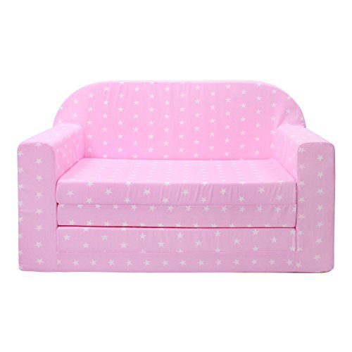 lulando classic kindersofa kindercouch kindersessel sofa bettfunktion kinderm bel zum schlafen. Black Bedroom Furniture Sets. Home Design Ideas