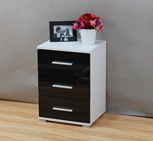 labi mbel n3 3x schubladen schrank kommode nachttisch nachtschrank nachtkasten nachtkstchen. Black Bedroom Furniture Sets. Home Design Ideas