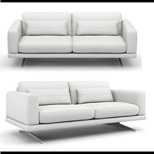 Leder Sofa Couch Sofagarnitur Couchgarnitur Polstergarnitur Ledergarnitur 2-Sitzer