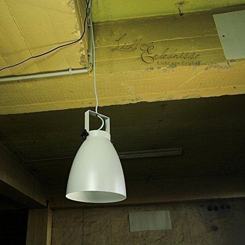 Loft Hängelampe Industrie titan - grauPendelleuchte Ø 21cm Pendellampe Industrieleuchten Industrielampen