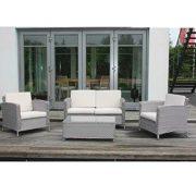 Loungegarnitur-Gartenmbel-Set-Aluminiumgestell-Polyrattangeflecht-Lounge-Gruppe-0