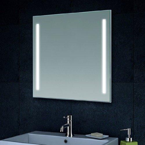 Lux-aqua Design Wand Spiegel Badezimmerspiegel LED Beleuchtung mit 420 Lumen MT60-60