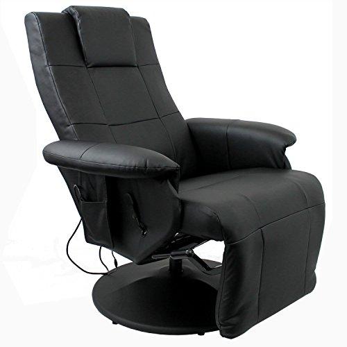 Luxus-Shiatsu-Massagesessel-Entspannungssessel-Relaxsessel-Fernsehsessel-mit-Massage-Sitzheizung-verstellbares-Futeil-Beinsttze-PU-Kunstleder-Schwarz-0