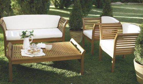MALAGA-Loungeset-4-teilig-Eukalyptus-gelt-mit-Polstern-creme-FSC-zertifiziert-0