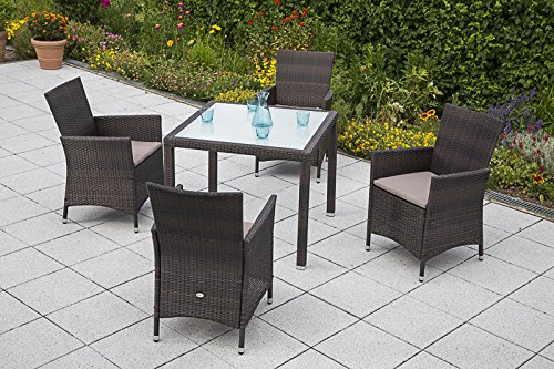 MERXX-Gartenmbel-Set-Pesaro-9-tgl-Sessel-inkl-Sitzkissen-und-Tisch-90x90-cm-0