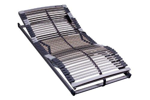 MSS 700100-90.220-EL 7-Zonen Lattenrost Trioflex 90 x 220 cm, Kopf- und Fußteil elektrisch verstellbar, 47 Leisten