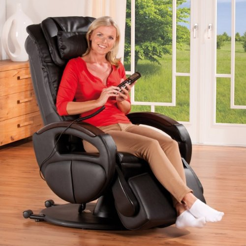 massagesessel komfort deluxe mit shiatsu. Black Bedroom Furniture Sets. Home Design Ideas