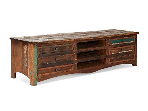 Massivum 10014823 TV-Bank Cruzar Holz, bunt, 50 x 180 x 50 cm