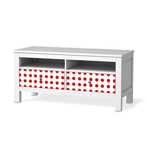 mbel sticker folie fr ikea hemnes tv bank 2 schubladen. Black Bedroom Furniture Sets. Home Design Ideas