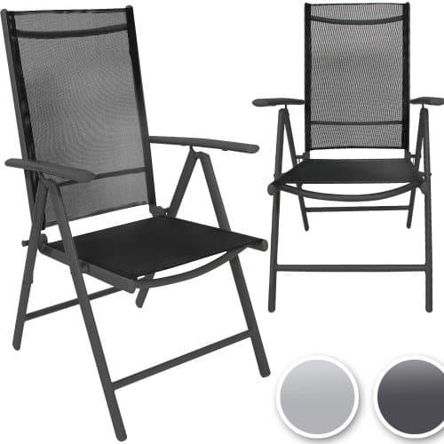 Miadomodo-Gartenstuhl-Set-Alusthle-aus-Aluminium-mit-Modell-Farb-und-Setwahl-0