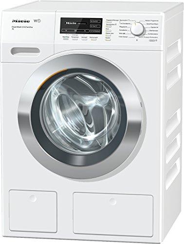 Miele WKH272 WPS Waschmaschine Frontlader/A+++/130 kWh/Jahr/1600UpM/9kg Schontrommel/59min-Waschprogramm mit PowerWash 2.0/Automatische Dosierung/Dampffunktion zum Vorbügeln