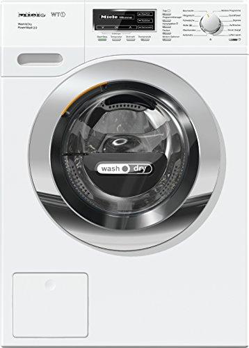 Miele WTF 130 WPM Waschtrockner-/Waschmaschine/(7kg)/mit Trockner (4kg)/Energieklasse A (896 kWh/Jahr)/1600 UpM/Schneller sauber und trocken Quick Power/Dampffunktion zum Vorbügeln der Wäsche