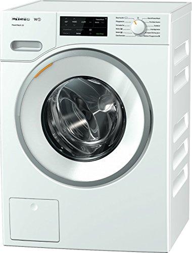 Miele WWE 320 WPS Waschmaschine Frontlader/A+++/157 kWh/Jahr/1400 UpM/8 kg Schontrommel/59min-Waschprogramm mit PowerWash 2.0/Vorbügel-Funktion für leichteres Bügeln