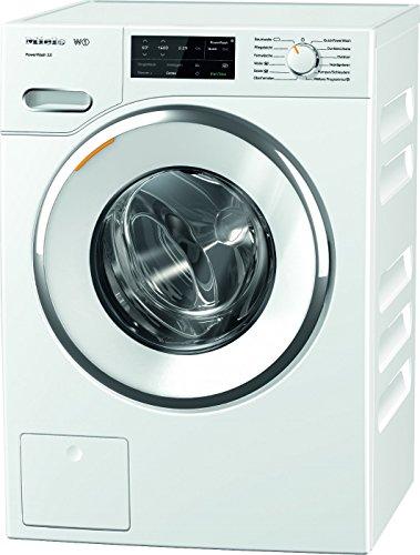 Miele WWI 330 WPS Waschmaschine Frontlader/A+++/130 kWh/Jahr/1400 UpM/9 kg Schontrommel/59min-Waschprogramm mit PowerWash 2.0/Vorbügel-Funktion für leichteres Bügeln