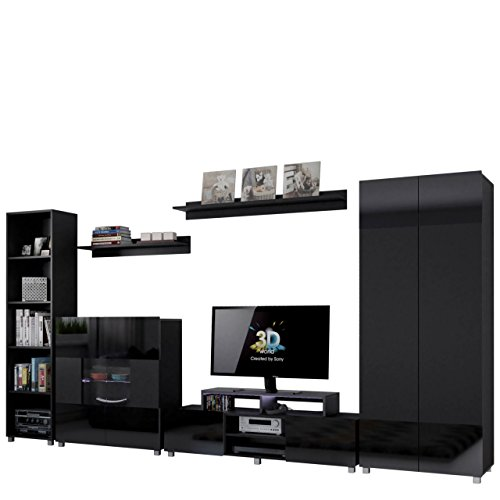 wohnwand billig online kaufen latest beautiful idea. Black Bedroom Furniture Sets. Home Design Ideas