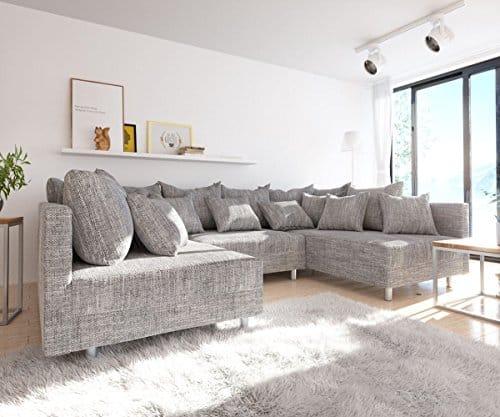 Modulsofa clovis erweiterbares ecksofa sofa wohnlandschaft for Moebel24 shop