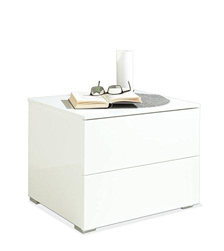 Nachtkommode-Nachttisch-wei-2-Schubladen-Orino-5-0