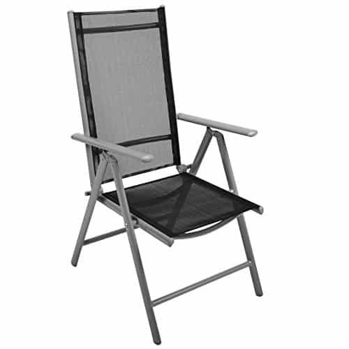 Nexos-Stuhl-Klappstuhl-Gartenstuhl-Hochlehner-fr-Terrasse-Balkon-Camping-Festival-aus-Aluminium-verstellbar-leicht-stabil-0