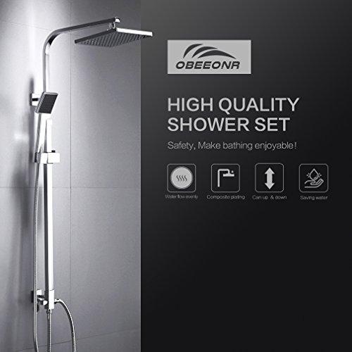 OBEEONR-Moderde-Design-Duschset-Duscharmatur-Duschsystem-mit-Regendusche-und-Duschkopf-Handbrause-fr-Badezimmer-Kupfer-Dusche-0
