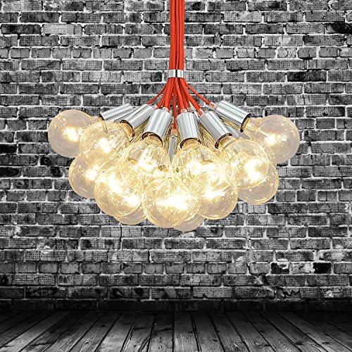 OOFAY LIGHT® einfache und graziöse 19 Stücke-Hängelampe kreative und europäische Hängelampe für Esszimmer