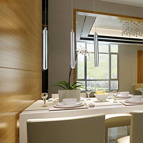 OOFAY LIGHT® einfache und graziöse LED-Leuchte 3 Stücke- Hängelampe stilvolle LED-Hängelampe für Esszimmer