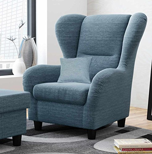 Ohrensessel-blau-Breite-90-cm-Stoff-Relaxsessel-Fernsehsessel-Schlafsessel-Lesesessel-Ruhesessel-0