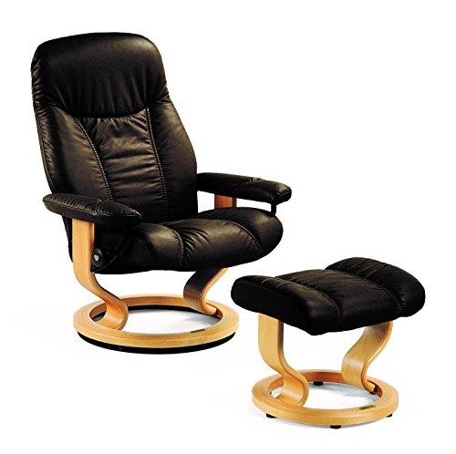 Original-Stressless-Consul-M-Relaxsessel-mit-Hocker-Leder-Batick-braun-Holz-natur-Ledersessel-Bequemsessel-0