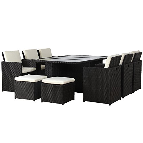 poly rattan lounge gartenset garnitur polyrattan alu kein bausatz m bel24. Black Bedroom Furniture Sets. Home Design Ideas