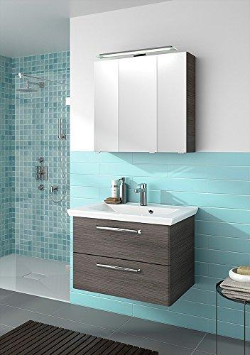 Pelipal-TRENTINO-800-Badmbel-Set-80-cm-Mineralmarmorwaschtisch-Unterschrank-Spiegelschrank-0