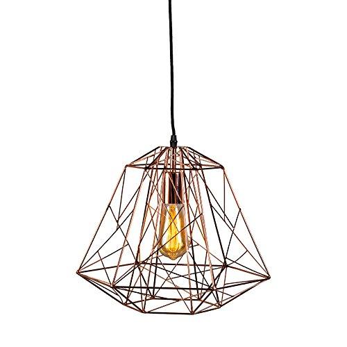 Pendelleuchte-Framework-Vintage-Industrie-kupfer-fr-LED-geeignet-0
