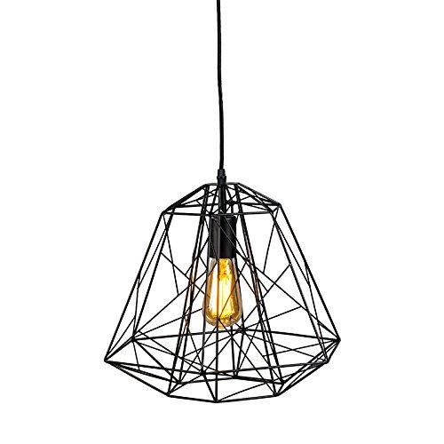 Pendelleuchte-Framework-Vintage-Industrie-schwarz-fr-LED-geeignet-0
