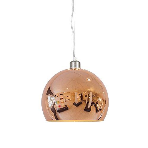 Pendelleuchte-Globe-28cm-Kupfer-0