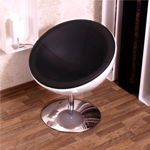 RETRO-SCHALEN-SESSEL-70er-design-stuhl-lounge-mbel-C13-weiss-schwarz-0