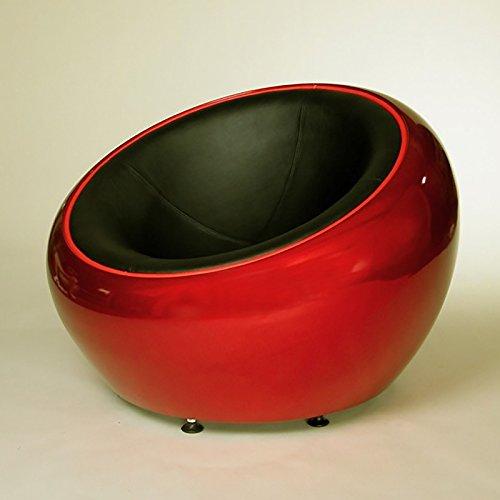 RIESIGER-DESIGN-LOUNGE-BALL-SCHALEN-SESSEL-von-XTRADEFACTORY-retro-mbel-stuhl-C12-rot-schwarz-0