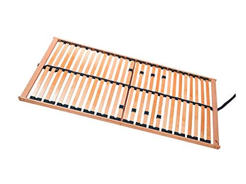 RUBIN 5-Zonen Lattenrost NV, stabile Buche, 120 x 200