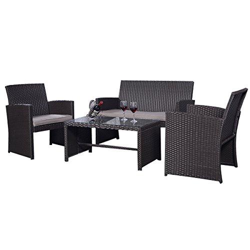 Rattan-Set-Rattanmbel-Gartenmbel-Lounge-Polyrattan-Sitzgruppe-Garnitur-Garten-0