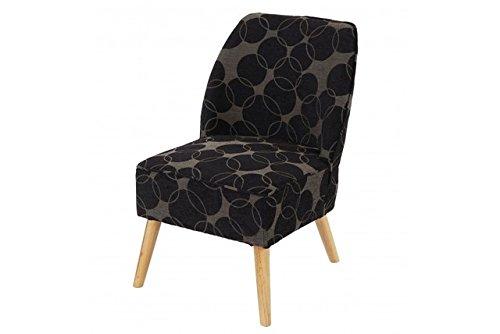 Retro-Club-Sessel-schwarz-grau-Polstersessel-Loungesesel-Skandinavisches-Design-0