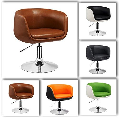 retro sessel ufo von 1stuff hhenverstellbar und 360 grad. Black Bedroom Furniture Sets. Home Design Ideas