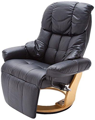 Robas-Lund-64021SN5-Relaxsessel-Calgary-2-Bezug-Leder-schwarz-natur-0